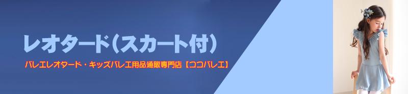 レオタード(スカート付)