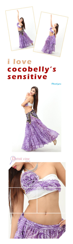 ベリーダンス衣装 【B02-M】